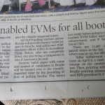 Braille-enabled EVMs for all booths