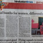 Special booths for women, differently abled